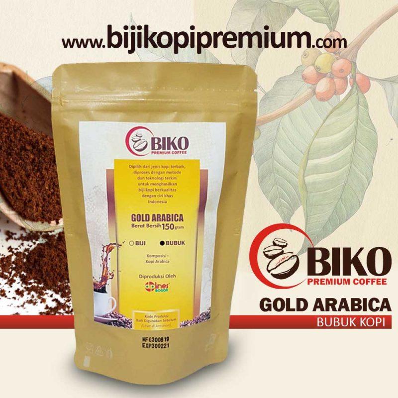 bubuk kopi arabica