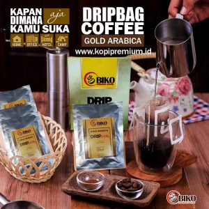drip cofee bag gold arabica