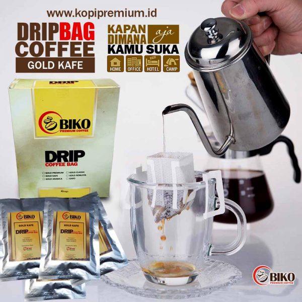 drip cofee bag gold kafe