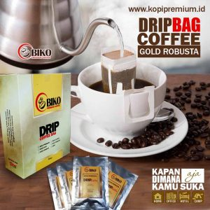 drip cofee bag gold robusta
