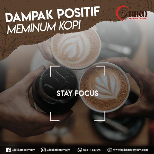 dampak positif kopi