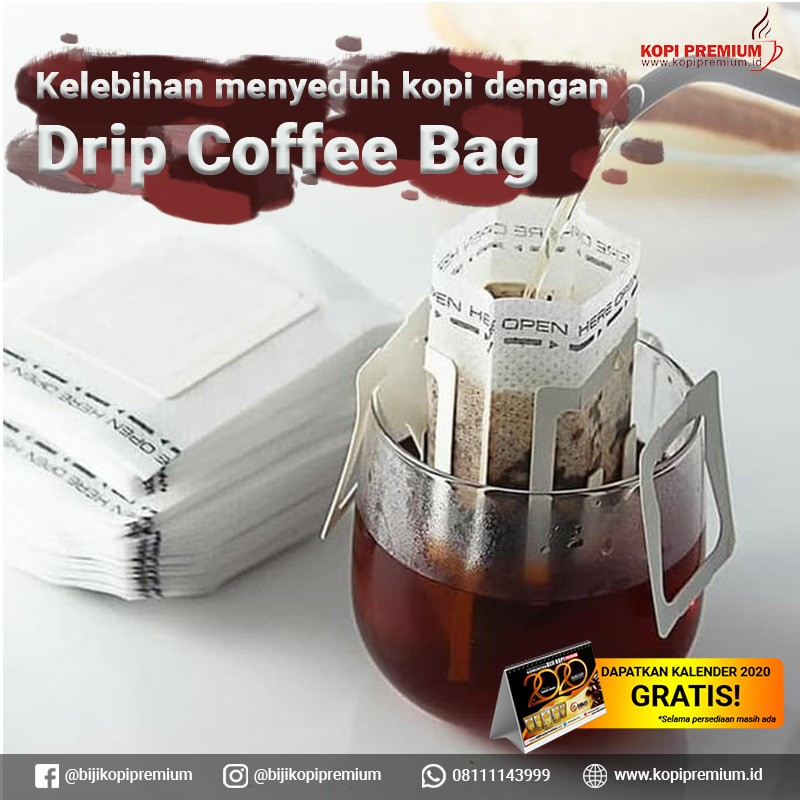 kegunaan drip coffee