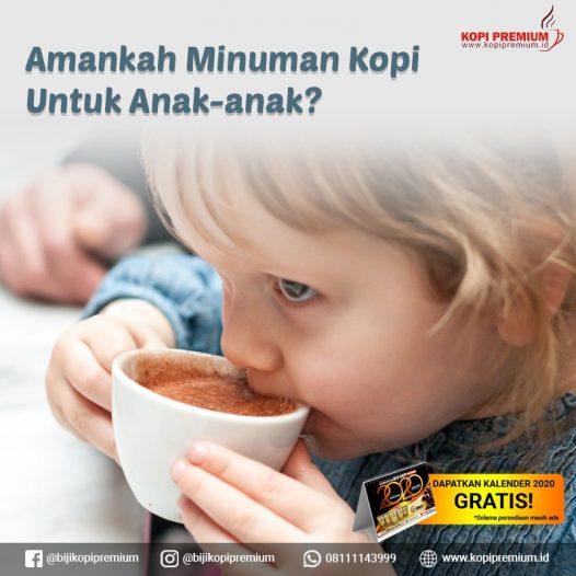 kopi untuk anak