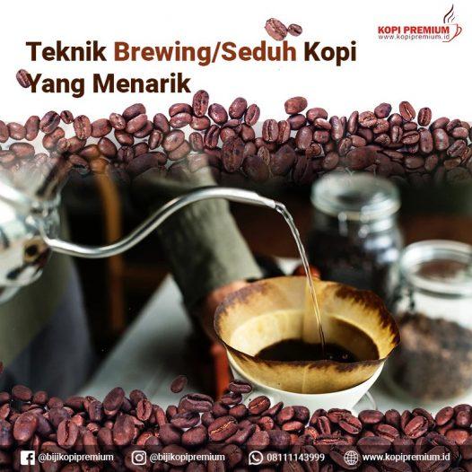 teknik brewing kopi