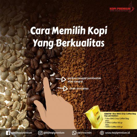 cara memilih kopi