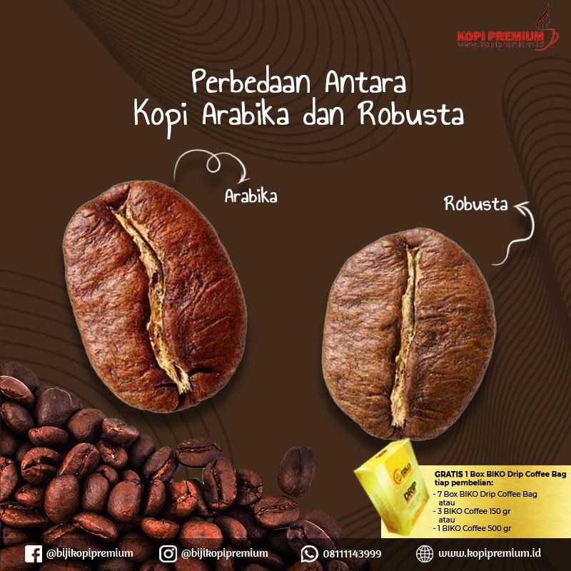 kopi arabika & robusta