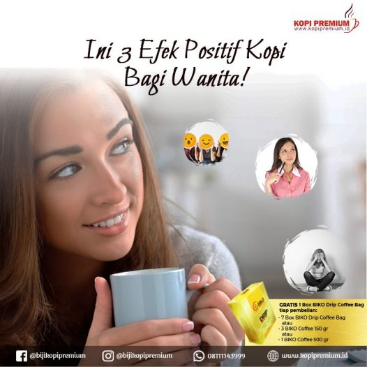 kopi untuk wanita