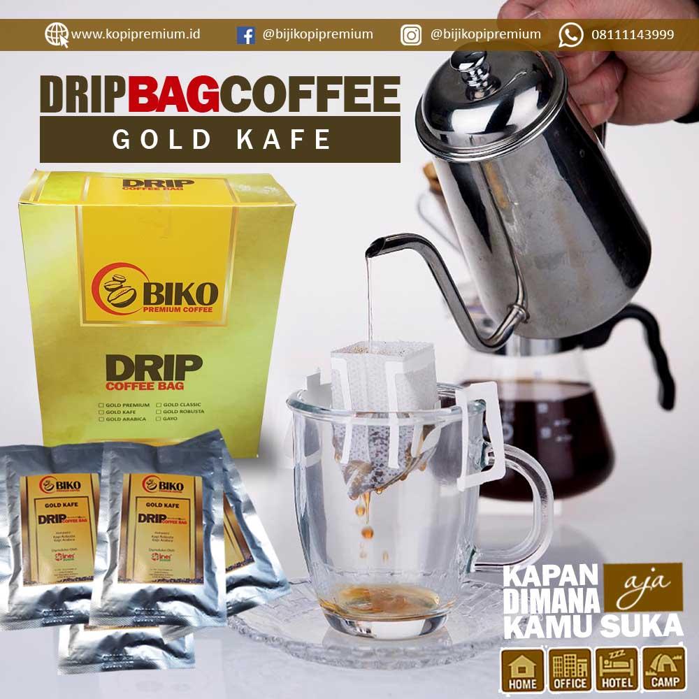 Kopi Biko Drip Bag Gold Kafe