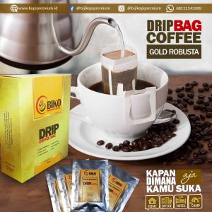 Kopi Biko Drip Bag Gold Robusta