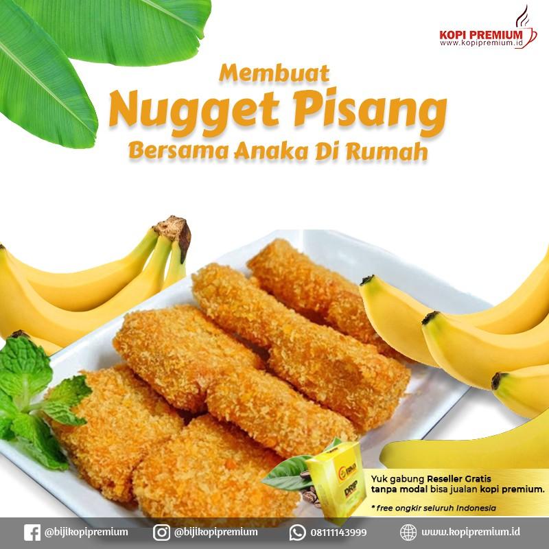 resep nugget pisang