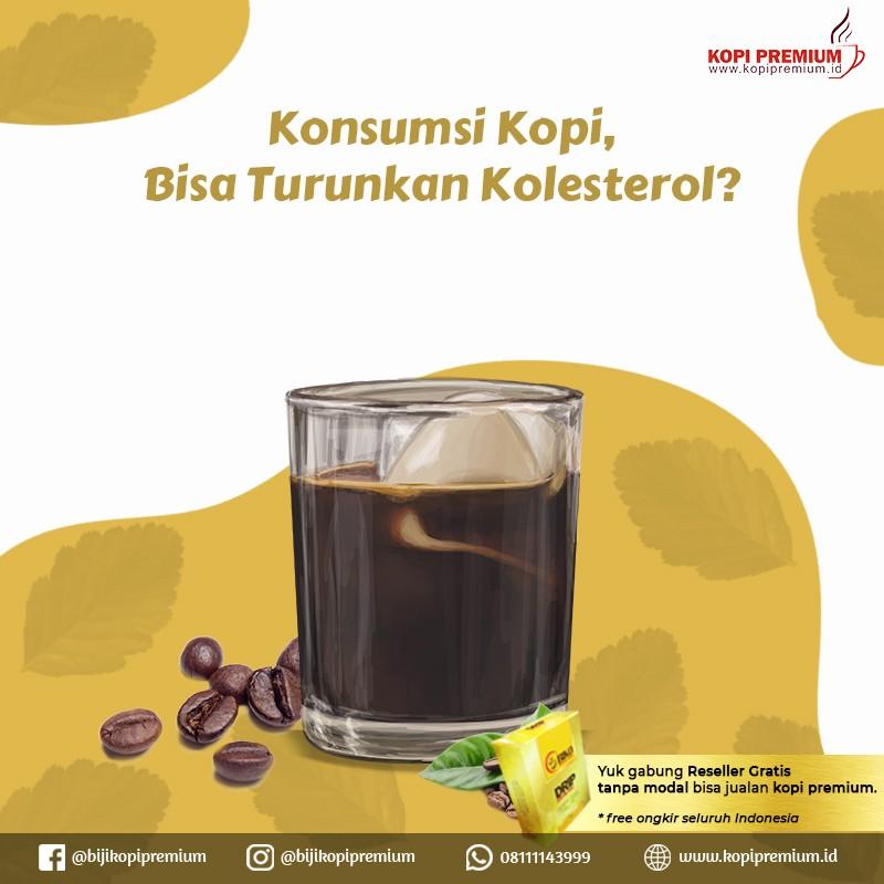 menurunkan kolestrol dengan kopi
